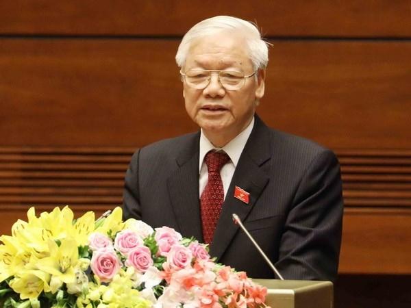 Loi keu goi cua Tong Bi thu Nguyen Phu Trong gui dong bao ca nuoc hinh anh 1