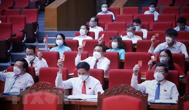 Hoi dong Nhan dan tinh Bac Giang thong qua 18 nghi quyet quan trong hinh anh 2