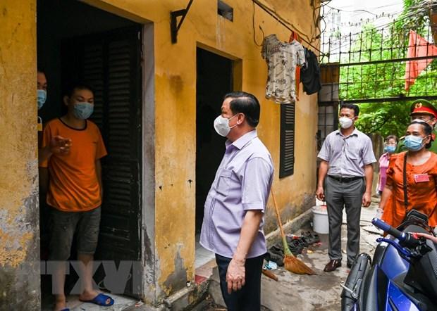 Bi thu Thanh uy Ha Noi: Quyet tam khong de phai cach ly F0 tai nha hinh anh 2