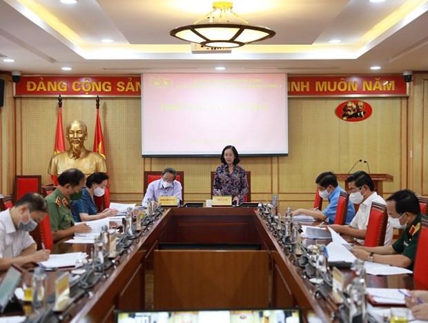 Phan cong nhiem vu, quy che lam viec Ban Chi dao De an Trung uong 4 hinh anh 1
