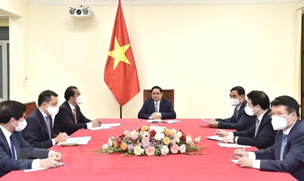Thu tuong de nghi Bi thuc day COVAX som phan bo vaccine cho Viet Nam hinh anh 2