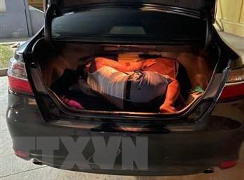 Tuyen Quang: Phat hien doi tuong tron trong cop xe, ne chot kiem dich hinh anh 1