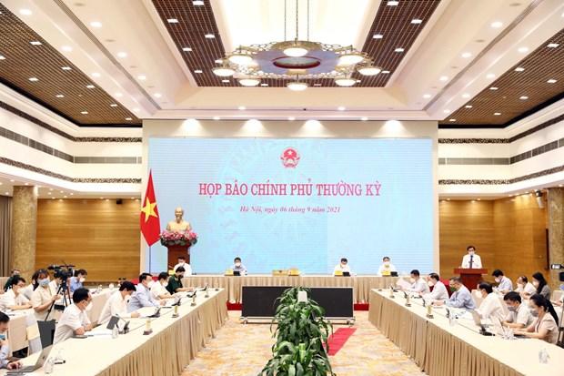 Hop bao Chinh phu: Tung buoc khoi phuc hoat dong san xuat, kinh doanh hinh anh 2
