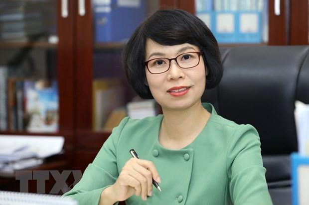 Ba Vu Viet Trang duoc bo nhiem giu chuc Tong Giam doc TTXVN hinh anh 1