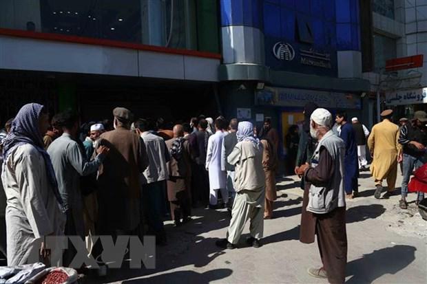 Afghanistan: Chinh quyen Taliban doi mat voi khung hoang tai chinh hinh anh 1