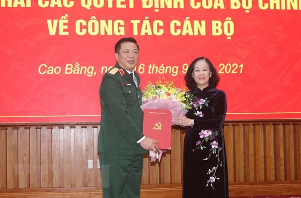 Ông Trần Hồng Minh được điều động làm Bí thư Tỉnh ủy Cao Bằng   Chính trị