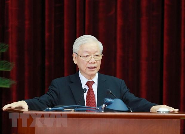Hoi nghi Trung uong: Tang cuong xay dung, chinh don Dang hinh anh 2