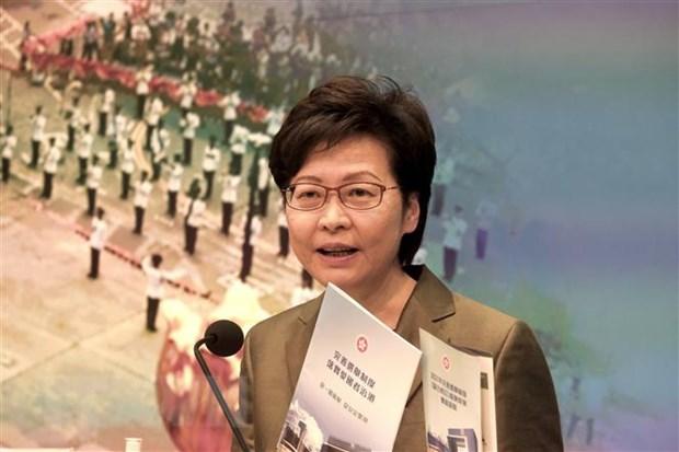 Trung Quoc: Cong bo ke hoach phat trien dac khu hanh chinh Hong Kong hinh anh 1