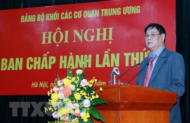 Hoi nghi Ban Chap hanh Dang bo Khoi cac co quan Trung uong lan thu 6 hinh anh 2