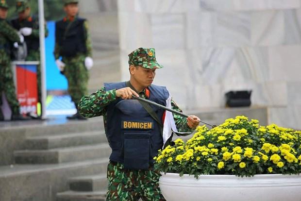 Chuan bi phuong an an ninh toi uu cho Hoi nghi Thuong dinh My-Trieu hinh anh 3