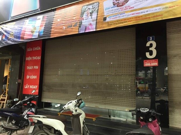 Ha Noi: Kham xet cua hang dien thoai Nhat Cuong Mobile hinh anh 2