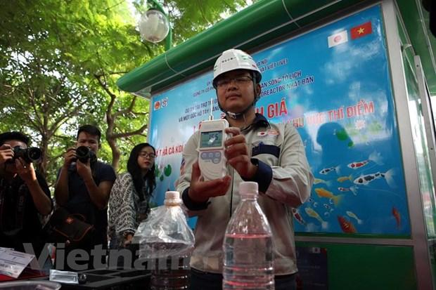 Ha Noi: Tha ca Koi Nhat Ban xuong song To Lich va Ho Tay hinh anh 9