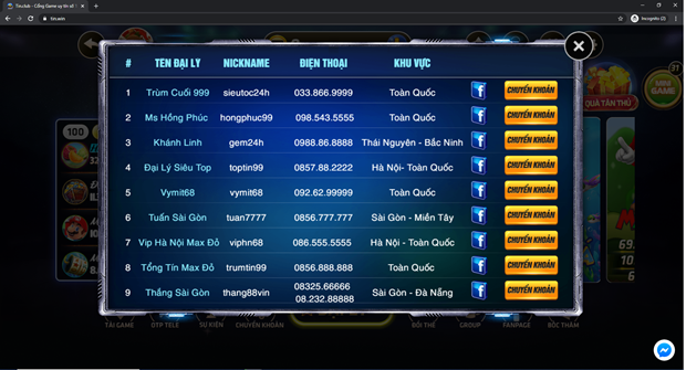 Tin.win: Them duong day danh bac online tra hinh kieu RikVip moi? hinh anh 2