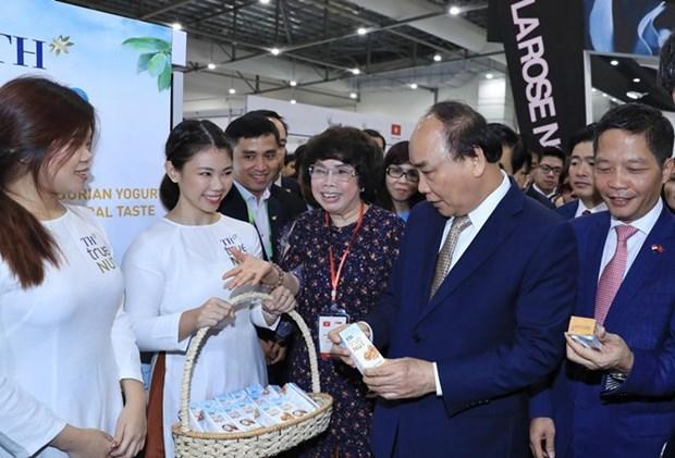 Loi khen ngoi tu Thu tuong tai Hoi cho Food and Hotel Asia hinh anh 1