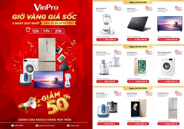 Vinpro uu dai hap dan len toi 50% trong mua Wolrd Cup hinh anh 3