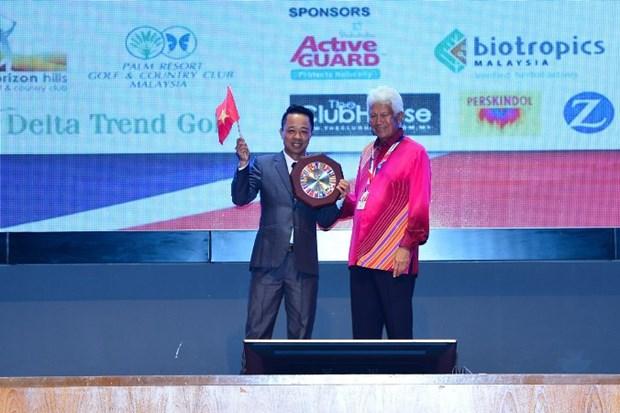 Doi tuyen Golf Viet Nam bao ve thanh cong vi tri so 1 Giai WAGC 2018 hinh anh 3