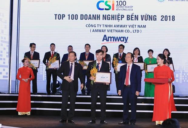 Amway Viet Nam phat trien kinh doanh cung trach nhiem xa hoi hinh anh 1