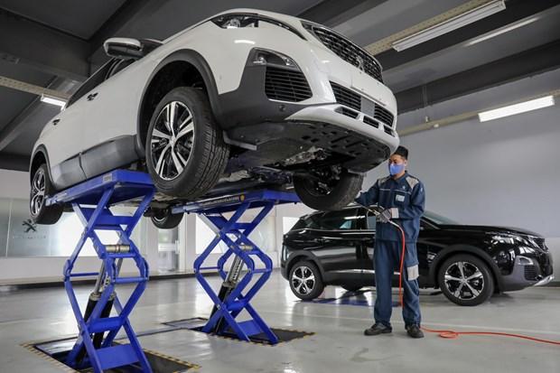 He thong showroom Peugeot chuan 3S toan cau tai Viet Nam hinh anh 2