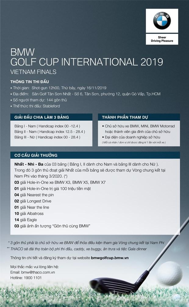 Tro thanh nguoi Viet Nam dau tien tham gia giai golf BMW toan cau hinh anh 4