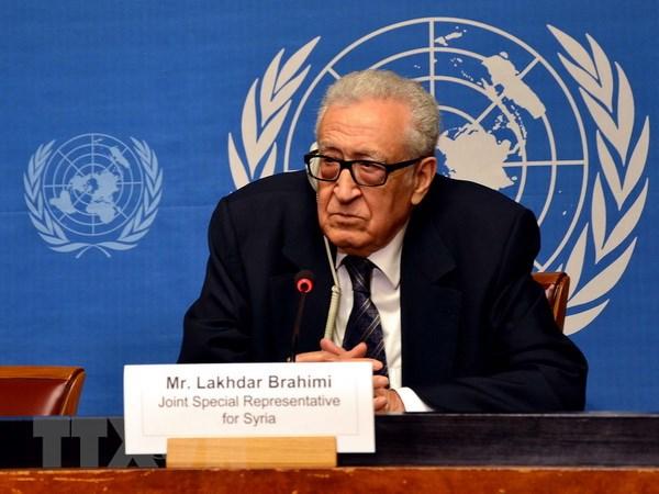 Dac phai vien quoc te ve Syria Lakhdar Brahimi tu nhiem hinh anh 1
