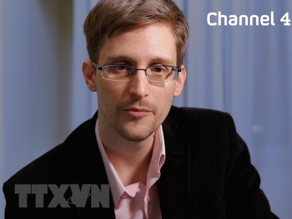 Cuu nhan vien tinh bao Edward Snowden tiet lo thong tin moi hinh anh 1