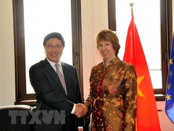 Viet Nam la thanh vien tich cuc trong moi quan he ASEAN-EU hinh anh 1