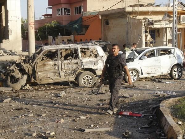Danh bom tai thu do cua Iraq lam gan 30 nguoi thuong vong hinh anh 1