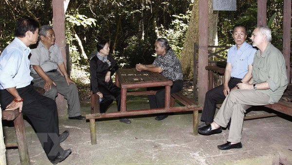 Di tich Trung uong Cuc mien Nam don hon 40.000 luot khach hinh anh 1