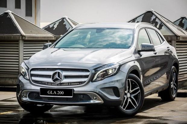 Mercedes-Benz Malaysia ra mat mau xe the thao GLA moi hinh anh 1