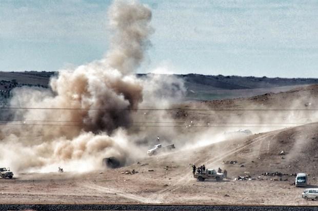 Syria: Quan doi tan cong IS o mien Bac, 21 nguoi thiet mang hinh anh 1