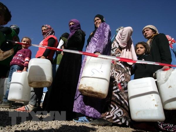 WFP ngung cuu tro nguoi ti nan Syria vi khung hoang ngan quy hinh anh 1