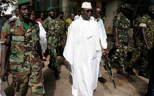 Gambia bat giu cac sy quan dinh liu den am muu dao chinh hinh anh 1