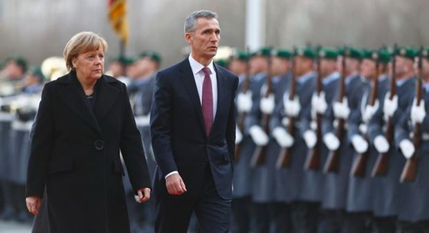 Tong thu ky NATO keu goi Duc tang ngan sach quoc phong hinh anh 1