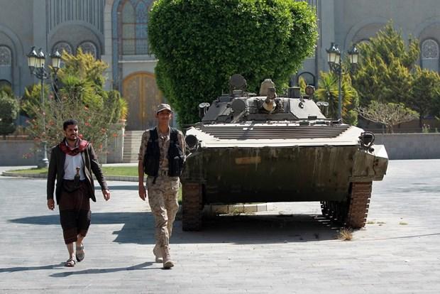 Yemen: Nhom dan quan Houthi dam phan voi Saudi Arabia hinh anh 1