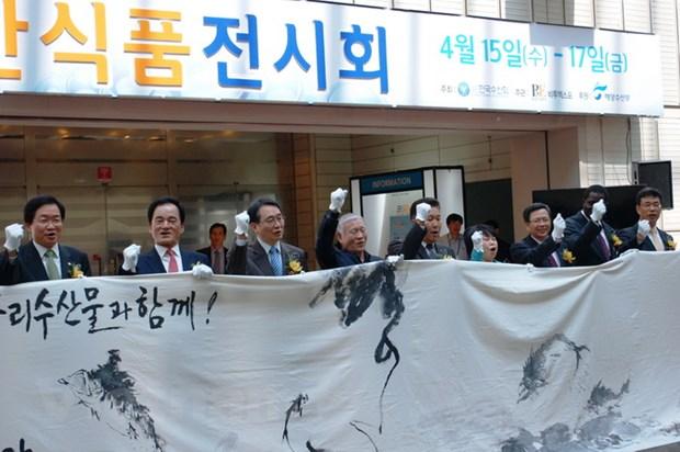 Doanh nghiep Viet Nam tham gia Hoi cho Thuy san quoc te Seoul hinh anh 2