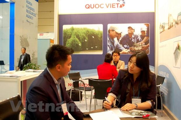 Doanh nghiep Viet Nam tham gia Hoi cho Thuy san quoc te Seoul hinh anh 1