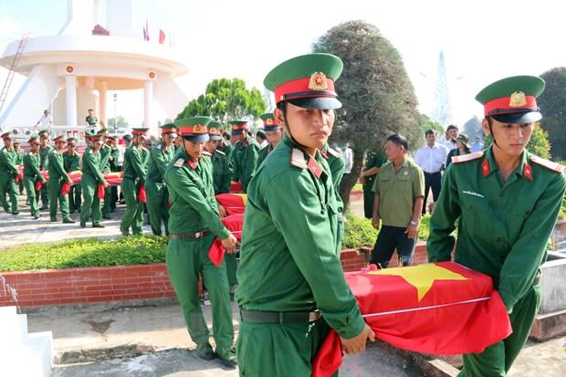 An tang hon 390 liet sy quan tinh nguyen hy sinh tai Campuchia hinh anh 1