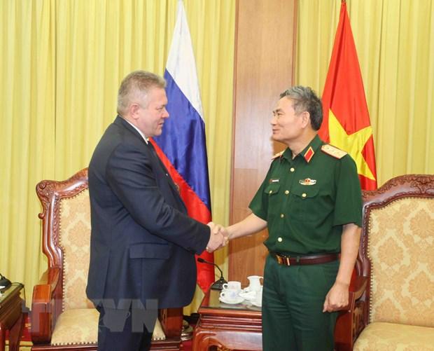 Viet-Nga tiep tuc day manh hop tac quoc phong di vao chieu sau hinh anh 1