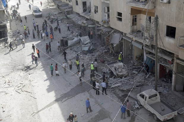 Al-Qaeda tan cong to hop tinh bao quan su Yemen, 10 linh tu vong hinh anh 1