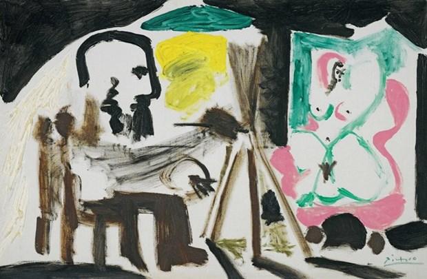 Trien lam cac kiet tac cua danh hoa Picasso, Dali tai Singapore hinh anh 4