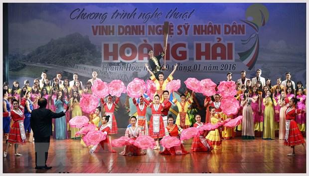 "NSND Hoang Hai va dem nghe thuat ""Sac mau xu Thanh"" hinh anh 2"