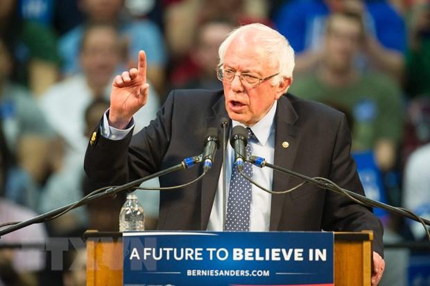 Bau cu My: Thuong nghi sy Sanders thang ba Clinton tai Kansas hinh anh 1