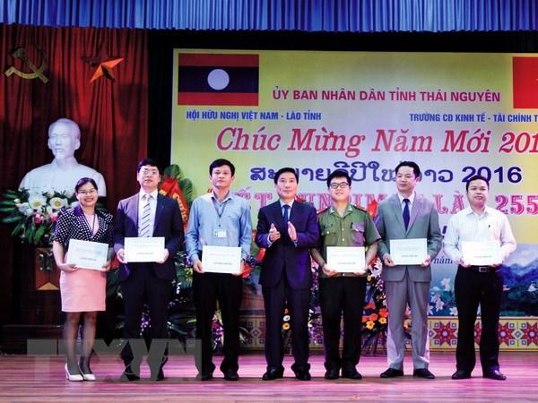 To chuc don Tet Bunpimay cho sinh vien Lao tai Viet Nam hinh anh 2