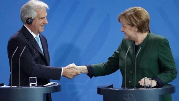 Uruguay va Duc cam ket no luc thuc day FTA Mercosur-EU hinh anh 1