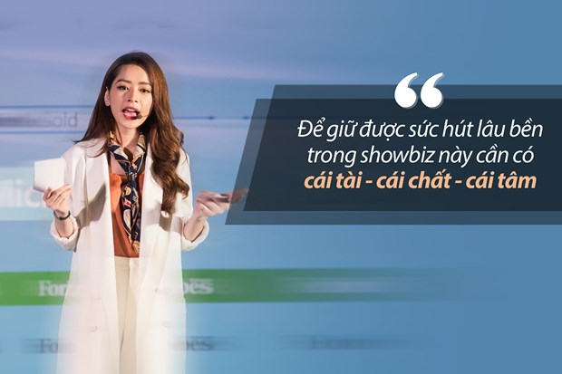 Bai dien van gay sot cua Chi Pu tai Forbes Talks Vietnam 2017 hinh anh 3