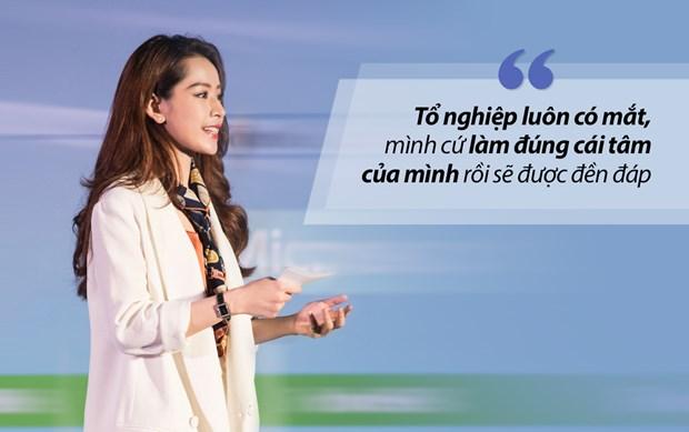 Bai dien van gay sot cua Chi Pu tai Forbes Talks Vietnam 2017 hinh anh 7