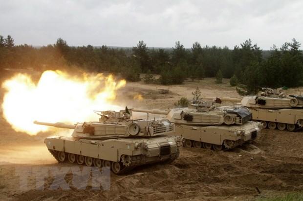 NATO to chuc dien tap quan su Summer Shield o Latvia hinh anh 1