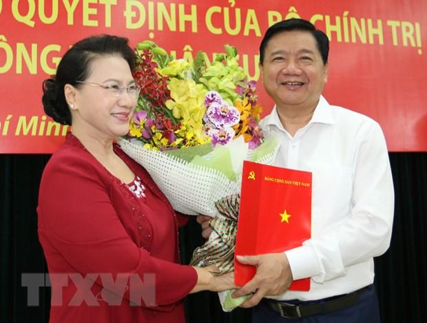 Ong Dinh La Thang giu chuc Pho Truong ban Kinh te Trung uong hinh anh 1