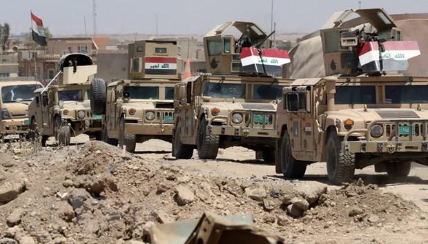 Iraq giai phong mot khu vuc rong lon o phia Tay thanh pho Mosul hinh anh 1