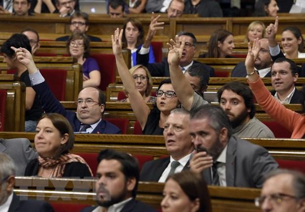 Tay Ban Nha chan trang web trung cau y dan doi doc lap cua Catalonia hinh anh 1